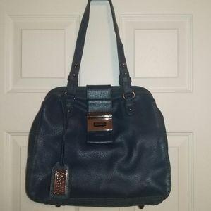 Badgley Mischka Julia Cambridge structured purse